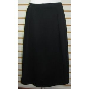 Stretch blend below knee skirt professional style